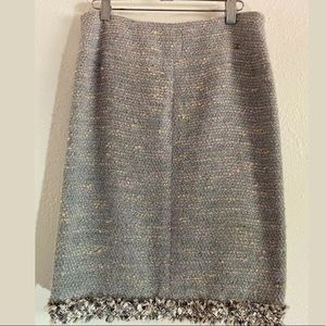 Chanel CC  Tweed Skirt size 38
